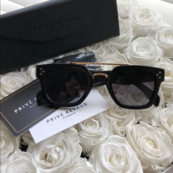 b98d7acf43 Privé Revaux The Foxx Black Sunglasses. M 5b6f0d052830954f4b6eb576